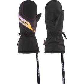 Roeckl Alba Moufles de ski Enfant, black/pink